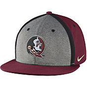 Nike Men's Florida State Seminoles Garnet/Grey Sideline True Adjustable Performance Hat