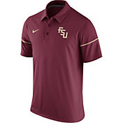 Nike Men's Florida State Seminoles Garnet Team Issue Performance Polo
