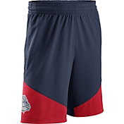 Nike Men's Gonzaga Bulldogs Blue/Red New Classics Basketball Shorts