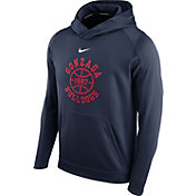 Nike Men's Gonzaga Bulldogs Blue Circuit Basketball Hoodie