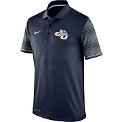 Nike Men's Gonzaga Bulldgos Blue Early Season Coach Polo