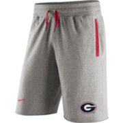 Nike Men's Georgia Bulldogs Grey Stadium Team First AW77 Shorts