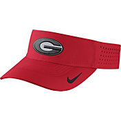 Nike Men's Georgia Bulldogs Red Vapor Sideline Visor