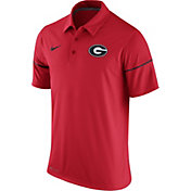 Nike Men's Georgia Bulldogs Red Team Issue Performance Polo