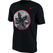 Nike Men's Ohio State Buckeyes Black Project Fresh Camo Pack T-Shirt