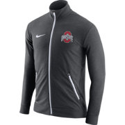 Nike Men's Ohio State Buckeyes Anthracite Elite Players Dri-FIT Touch Full-Zip Jacket