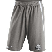 Nike Men's Ohio State Buckeyes Gray Champ Drive Untouchable Shorts