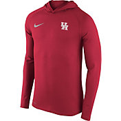 Nike Men's Houston Cougars Red Stadium Dri-FIT Touch Hoodie