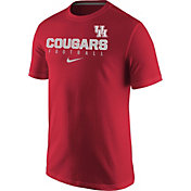 Nike Men's Houston Cougars Red Football Practice T-Shirt