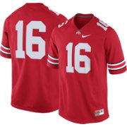 Nike Men's Ohio State Buckeyes #16 Scarlet Game Football Jersey