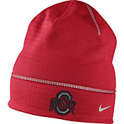 Nike Men's Ohio State Buckeyes Scarlet Champ Drive Fleece Beanie