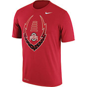 Nike Men's Ohio State Buckeyes Scarlet Football Icon Legend T-Shirt