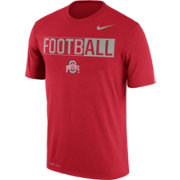 Nike Men's Ohio State Buckeyes Scarlet FootbALL Legend T-Shirt