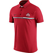 Nike Men's Ohio State Buckeyes Scarlet Elite Coaches Performance Polo