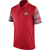 Nike Men's Ohio State Buckeyes Scarlet Early Season Coach Polo
