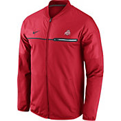 Nike Men's Ohio State Buckeyes Scarlet Elite Hybrid Jacket