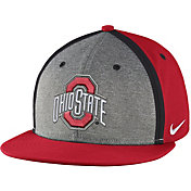 Nike Men's Ohio State Buckeyes Scarlet/Gray Sideline True Adjustable Performance Hat