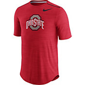 Nike Men's Ohio State Buckeyes Scarlet Player Dri-FIT Touch Performance T-Shirt