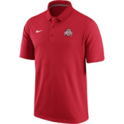 Nike Men's Ohio State Buckeyes Scarlet Stadium Team First Solid Polo