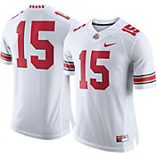 Nike Men's Ohio State Buckeyes White #15 Football Limited Jersey