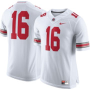 Nike Men's Ohio State Buckeyes White #16 Limited Football Jersey