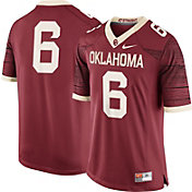 Nike Men's Oklahoma Sooners #6 Crimson Limited Football Jersey