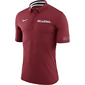 Nike Men's Oklahoma Sooners Crimson ELITE Basketball Polo