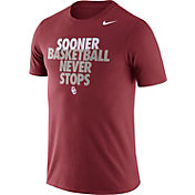 Nike Men's Oklahoma Sooners Crimson Basketball Team T-Shirt