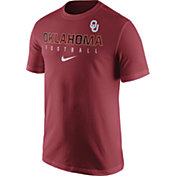 Nike Men's Oklahoma Sooners Crimson Football Practice T-Shirt