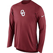 Nike Men's Oklahoma Sooners Crimson ELITE Shooter Long Sleeve Shirt