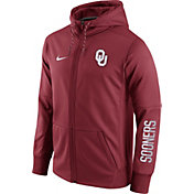 Nike Men's Oklahoma Sooners Crimson Circuit Full-Zip Hoodie