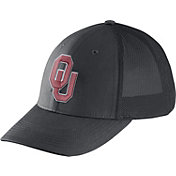 Nike Men's Oklahoma Sooners Grey Legacy91 Flex Mesh Back Hat