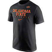 Nike Men's Oklahoma State Cowboys Football Practice Black T-Shirt