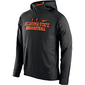 Nike Men's Oklahoma State Cowboys Basketball ELITE KO Performance Black Pullover Hoodie