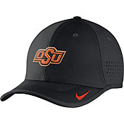 Nike Men's Oklahoma State Cowboys Black Vapor Sideline Coaches Hat