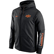 Nike Men's Oklahoma State Cowboys Black Circuit Full-Zip Hoodie