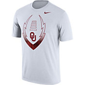 Nike Men's Oklahoma Sooners Football Icon Legend White T-Shirt