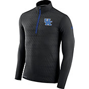 Nike Men's Kentucky Wildcats Black Element Quarter-Zip Shirt