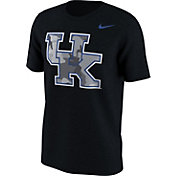 Nike Men's Kentucky Wildcats Black Project Fresh Camo Pack T-Shirt