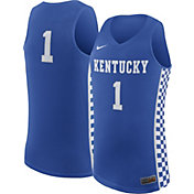 Nike Men's Kentucky Wildcats #1 Blue Replica ELITE Basketball Jersey