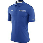 Nike Men's Kentucky Wildcats Blue ELITE Basketball Polo