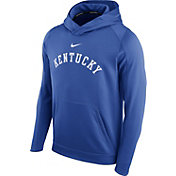 Nike Men's Kentucky Wildcats Blue Circuit Basketball Hoodie