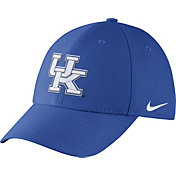 Nike Men's Kentucky Wildcats Blue Dri-FIT Wool Swoosh Flex Hat