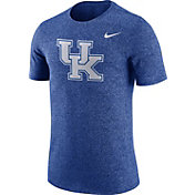 Nike Men's Kentucky Wildcats Blue Marled Logo T-Shirt