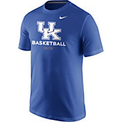 Nike Men's Kentucky Wildcats Blue University ELITE Basketball T-Shirt