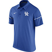 Nike Men's Kentucky Wildcats Blue Team Issue Performance Polo