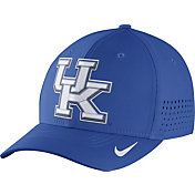 Nike Men's Kentucky Wildcats Blue Vapor Sideline Swoosh Flex Hat