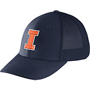 Nike Men's Illinois Fighting Illini Blue Legacy91 Flex Mesh Back Hat