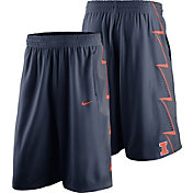Nike Men's Illinois Fighting Illini Blue Replica Basketball Shorts