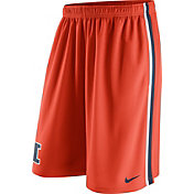 Nike Men's Illinois Fighting Illini Orange Epic Shorts